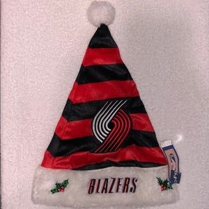 Portland Trail Blazers Santa Hat